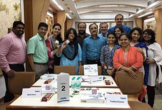 Roy Pollock Teaches Workshops in India